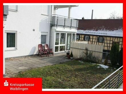 Erdgeschosswohnung mit Terrasse und Garten - zentrumsnah