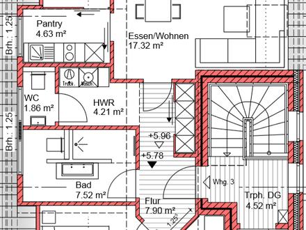 Neubau: Dachgeschosswohnung mit Lift in ruhiger Sackgassennlage nahe Bürgerfelder Teich!