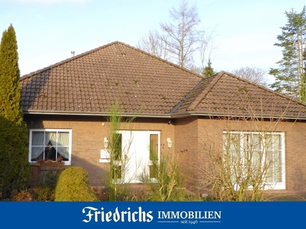 Bungalow mit ausbaufähigem Dachgeschoss in Edewecht-Portsloge - herrlich weite Naturausblicke!