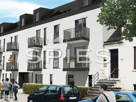 Neubau / Erstbezug: Modern ausgestattete, helle 2,5-Zimmer-Wohnung mit Balkon