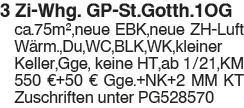 3 Zi.Whg GP St.Gotth.1OG