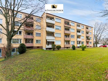 Helle 3-Zimmer-Wohnung mit Potenzial in idealer Lage in Kirchheim unter Teck zu verkaufen