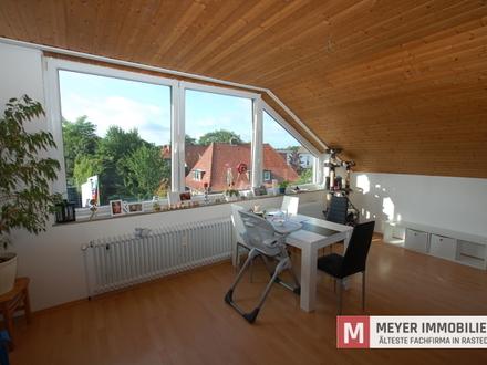 Zentral gelegene 3 ZKB Wohnung im Ortskern von Rastede zu vermieten (Objekt-Nr. 5921)