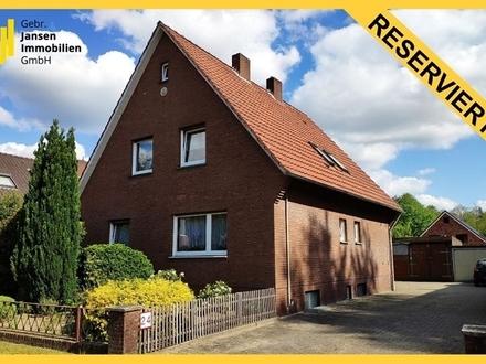 RESERVIERT! Zentral in Meppen! Familienhaus mit möglicher Einliegerwohnung!