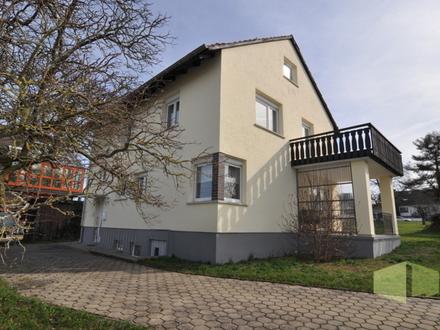 Flair, Vielfalt, Faszination - komfortables Wohnhaus in der Marktgemeinde Ebensfeld