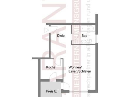 1 Zimmer-Appartement in Bad Saulgau in ruhiger Wohnlage!