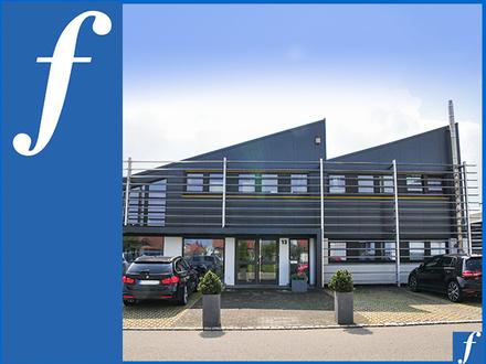 Sektionaltor * Halle und Büro * 2010 energetisch modernisiert * Bodenplatte aus 1 Stück