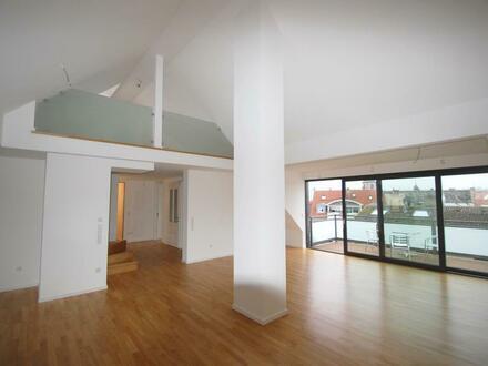 Penthouse-Maisonette-Wohnung mit Galerie im Herzen von Aschaffenburg
