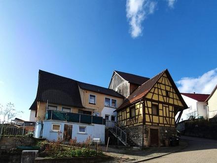 Wohnhaus mit Charme im Kochertal. Platz für Familie und Hobby!