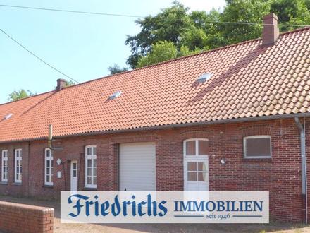Vielfältig nutzbares Verwaltungsgebäude-wahlweise mit Hof- u. Freiflächen sowie Hallen-in Bockhorn