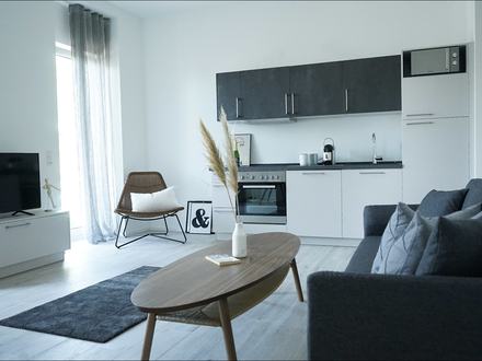 "BOARDING APARTMENT ""DELUXE"" 2 Zimmer -voll ausgestattet- PRIME PARK *Tagespreis Euro 99,- €*"