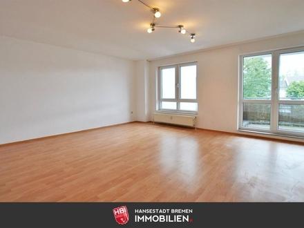 Hastedt / Gepflegte 3-Zimmer-Wohnung mit Balkon