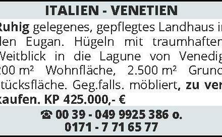 ITALIEN - VENETIEN Gepfle