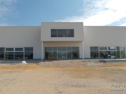Produktion/ Austellung/ Büros neue repräsentative Halle mit Büros an der A 3 in Wörth a.D./ Wiesent