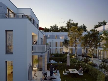 Gartenwohnung auf zwei Ebenen