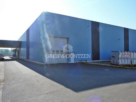 ANMIETUNG DURCH GREIF & CONTZEN ++ Moderne Hallenfläche