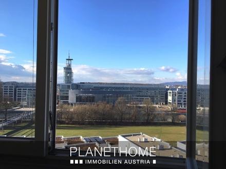 Panoramablick nach Westen - 4 Zimmer-Wohnung im 9. Lift-Stock
