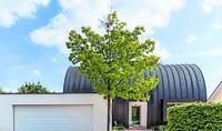 Passivhaus in Herxheim hat ausgefallene Dachform