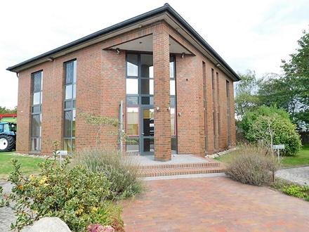 Rastede-Liethe: Gepflegtes Bürogebäude im Gewerbegebiet, Obj. 4858