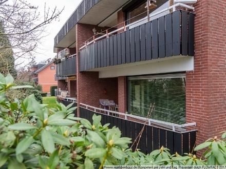 Hochparterre-Wohnung mit Garage und Keller in gefragter Wohnlage