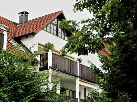 Ideal fürs Kapital! - Vermietete Maisonette-Wohnung in Diedorf