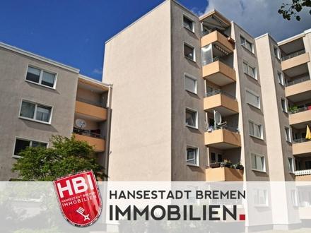 Arbergen / Sanierte 3,5-Zimmer-Wohnung mit Loggia und Stellplatz