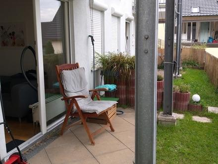 Kleine Wohnetage mit Gartenterrasse