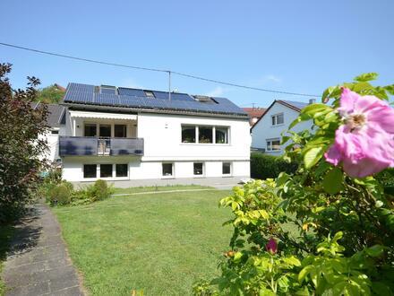 Hausansicht Garten, Blick 1
