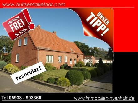 Barrierefreies Einfamilienhaus mit Wintergarten & 3 Garagen ** Wohnen auf einer Ebene ** provisionsfrei für den Käufer