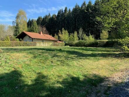 Bauplatz Wochenend- Ferienhaus Westerwald. Ihre Oase im Grünen.