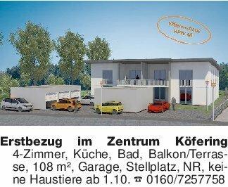 Erstbezug im Zentrum Köfering...