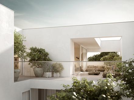 Wohngenuss – Dachterrassenwohnungen in Nonntal
