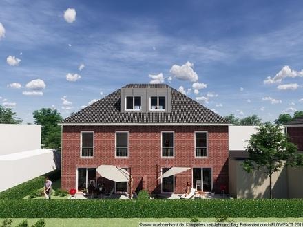 Attraktives Neubau-Doppelhaus mit Carportanlagen beim Bürgerbusch
