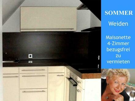 Weiden - 4 Zimmer Maisonette Wohnung mieten