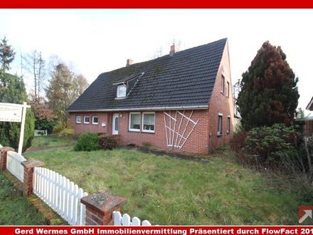 Sanierungsbedürftiges Einfamilienhaus auf großzügigem Grundstück in Lorup!