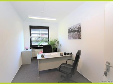 Büroraum im repräsentativen Business Center Darmstadt mit zubuchbarem Service