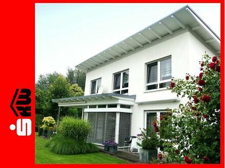 Wohnen und Arbeiten - perfekt inszeniert. 3784 G Büro + Einfamilienhaus in Rheda
