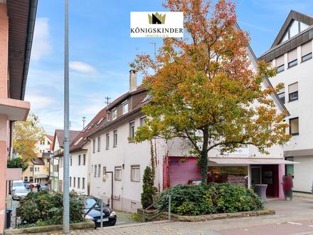 Spannende Kapitalanlage: 3-Familienhaus mit Ladengeschäft in Kirchheim/Teck