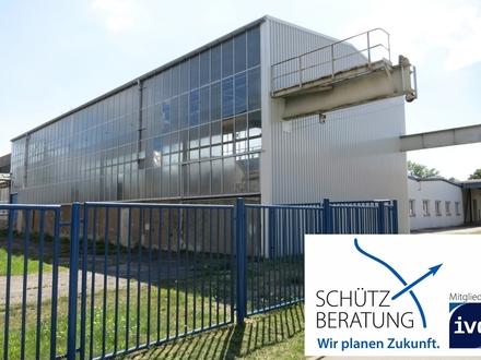Großzügige Kalthalle in zentraler Lage von Zwickau