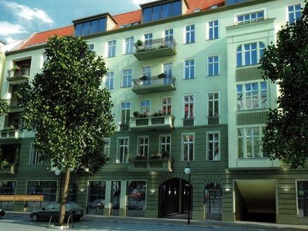 Exklusive 2 Zimmer-Altbauwohnung mit zwei Balkonen in Berlin -Prenzlauer Berg-