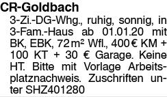 CR-Golbach