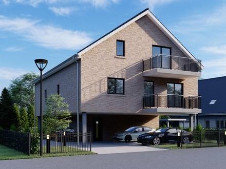 Modernes KfW 55 Neubau Apartment im 2.Obergeschoss mit 2 Zimmern und Balkon in Oldenburg/Osternburg