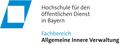 Hochschule für den öffentlichen Dienst in Bayern