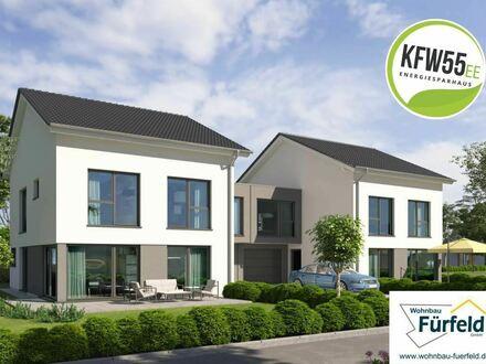 KfW-55 EE Stadthäuser in Dornberg