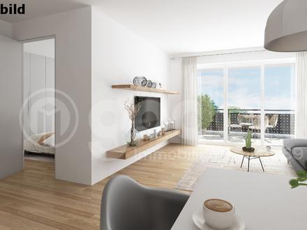 Moderne 2 Zimmer-Wohnung in Zentrum naher Lage mit Balkon!