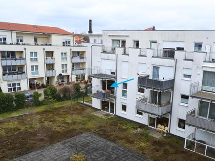 Tolle Stadtlage! 2-Zi.-Eigentumswohnung mit Balkon