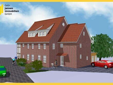 Neubau! Hochwertige Maisonette-Wohnung in Zentrumslage von Lemförde!