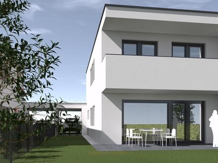 Doppelhaushälfte Top 05 in Pasching – top Architektur, hervorragende Qualität, geniales Grundstück, schlüsselfertig, provisionsfrei