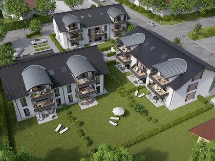 Neubau Wohnanlage mit Tiefgarage in Großkarolinenfeld - Ein Ort zum Wohlfühlen!
