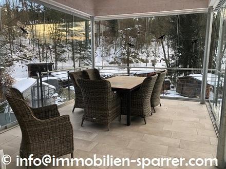 Helle, sanierte 3,5-Zimmer-Wohnung mit Sommergarten in Störnstein